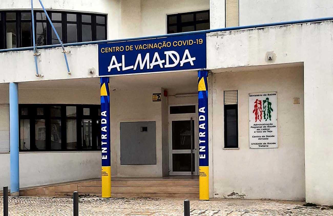 Novo centro de vacinação abre na Trafaria